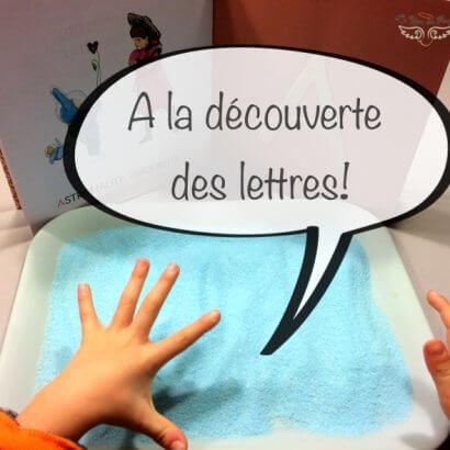 A la decouverte des lettres