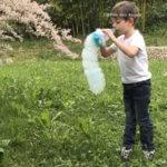 Faire des bulles de savon façon serpent!