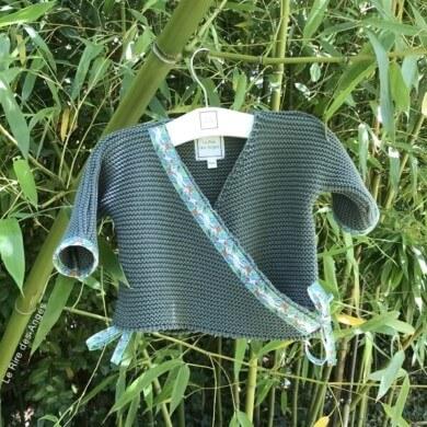 brassiere bebe coton tropicale